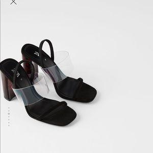 Zara heeled sandals